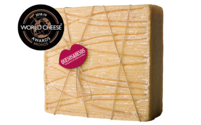 Nuestro Queso Colono Bronce en los «World Cheese Awards 2018»
