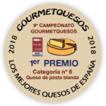 OLAVIDIA, MEJOR QUESO en categoría coagulación láctica – GOURMET QUESOS 2018