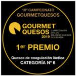 OLAVIDIA, MEJOR QUESO en categoría coagulación láctica – GOURMET QUESOS 2019